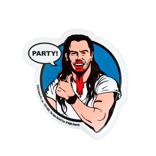 Party Mindset Sticker