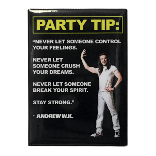 Party Tip Magnet