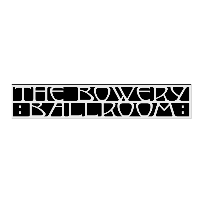 Thu Sep 23 - New York, NY - Bowery Ballroom  - (Will Call Tickets)