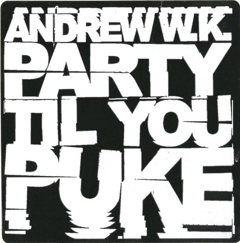 Party Til You Puke Sticker