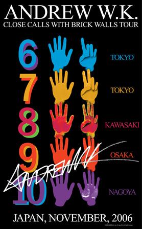 Japanese Tour Poster