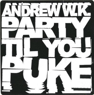 Party Til You Puke Sticker