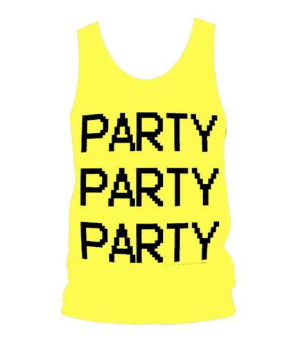 Party Party Party Tank Top