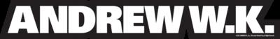 Andrew W.K. Logo Vinyl Sticker