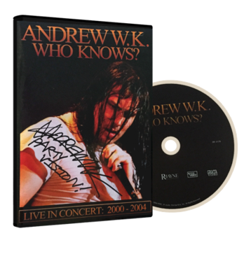 Who Knows? Live 2000-2004 (DVD)