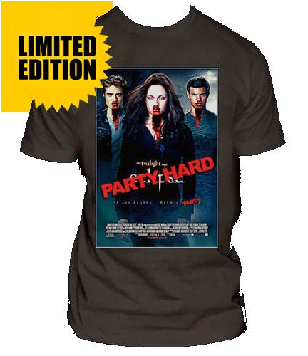 Twilight Hard - Parody Shirt