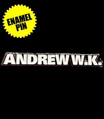 ANDREW W.K. Enamel Pin