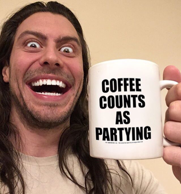 Coffee Counts as Partying Mug