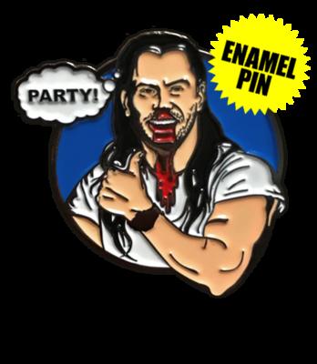 Party Mindset Enamel Pin