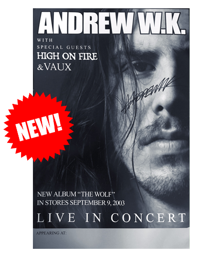 The Wolf Tour Poster