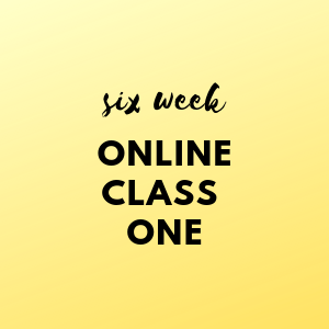 Six Week Online Class ONE - Elements and Principles of Art