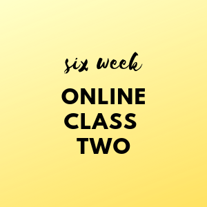 Six Week Online Class TWO - Paint Parties and Art for Children