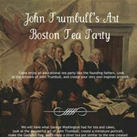 Boston Tea Party with Artist John Trumbull - Live Zoom Tea Party