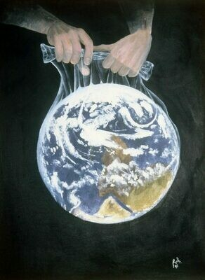 Revelation 6:14 The World in a Baggie (Print)