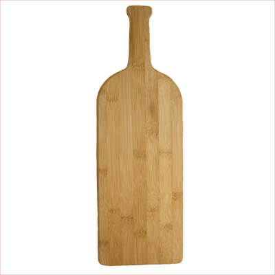 Wine Bottle Bamboo Cutting Board