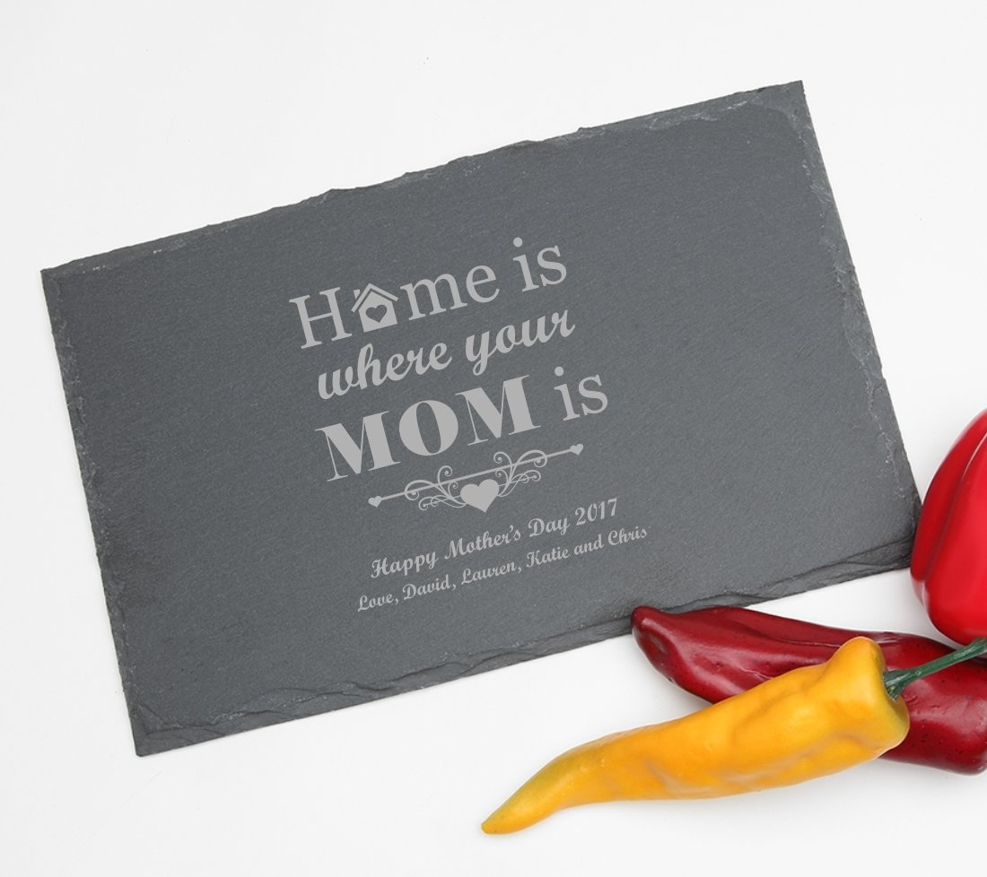 Personalized Slate Cheese Board 11 x 7 DESIGN 42