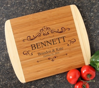 Personalized Cutting Board Custom Engraved 14x11 DESIGN 35