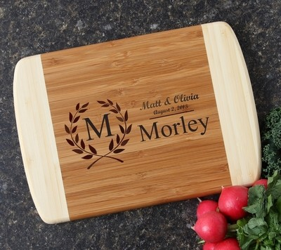 Personalized Cutting Board Custom Engraved 10 x 7 DESIGN 6