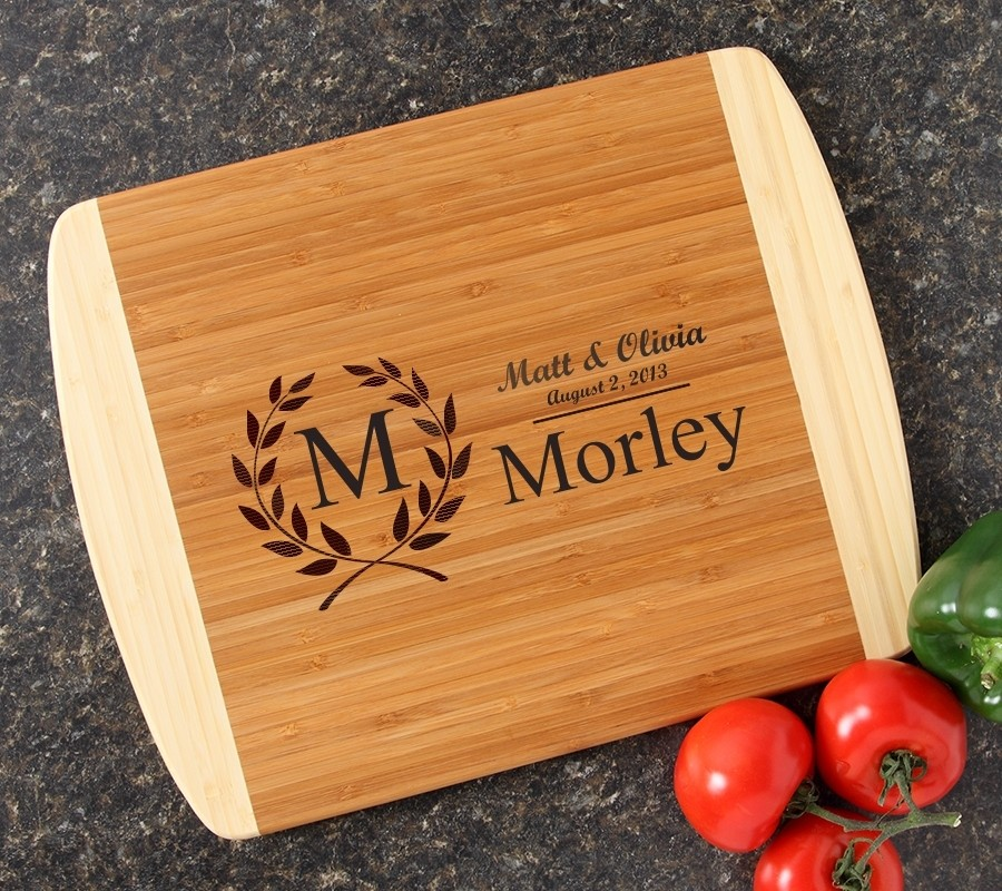 Personalized Cutting Board Custom Engraved 14x11 DESIGN 6
