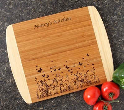 Personalized Cutting Board Custom Engraved 14x11 DESIGN 30