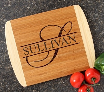 Personalized Cutting Board Custom Engraved 14x11 DESIGN 25