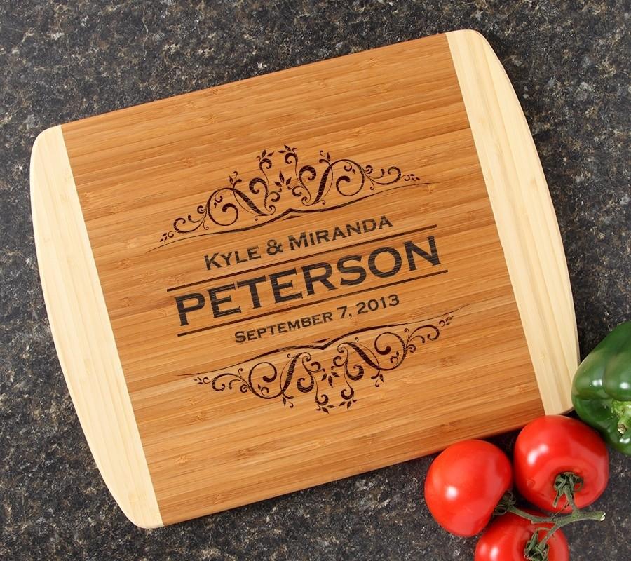 Personalized Cutting Board Custom Engraved 14x11 DESIGN 7