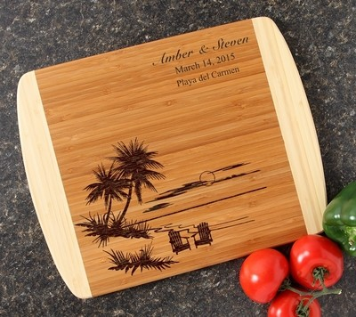Personalized Cutting Board Custom Engraved 14x11 DESIGN 33