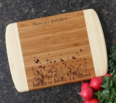 Personalized Cutting Board Custom Engraved 10 x 7 DESIGN 30