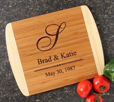 Personalized Cutting Board Custom Engraved 14x11 DESIGN 11