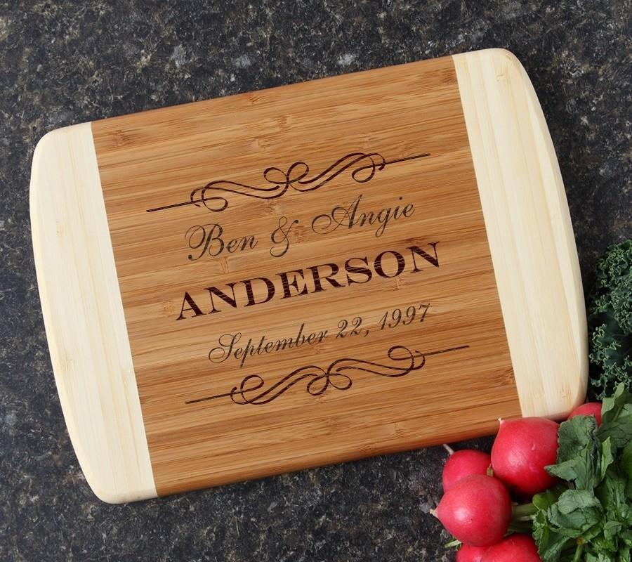 Personalized Cutting Board Custom Engraved 10 x 7 DESIGN 9