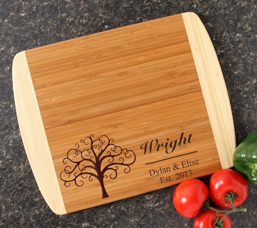 Personalized Cutting Board Custom Engraved 14x11 DESIGN 18