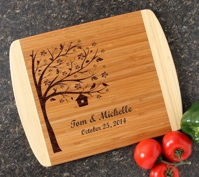 Personalized Cutting Board Custom Engraved 14x11 DESIGN 27
