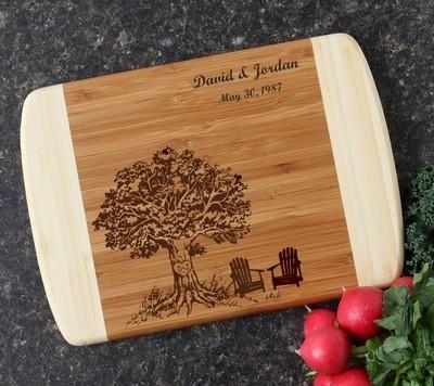 Personalized Cutting Board Custom Engraved 10 x 7 DESIGN 31