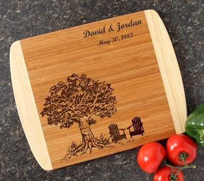 Personalized Cutting Board Custom Engraved 14x11 DESIGN 31