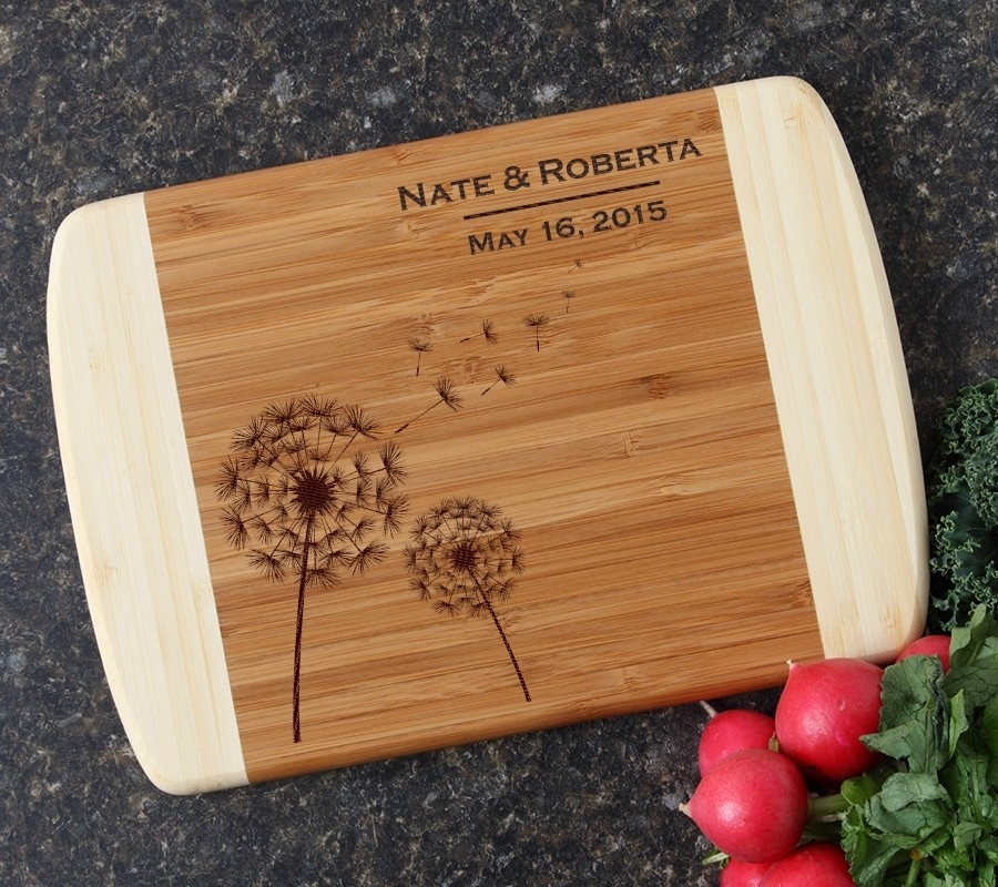 Personalized Cutting Board Custom Engraved 10 x 7 DESIGN 28
