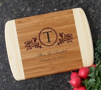 Personalized Cutting Board Custom Engraved 10 x 7 DESIGN 15