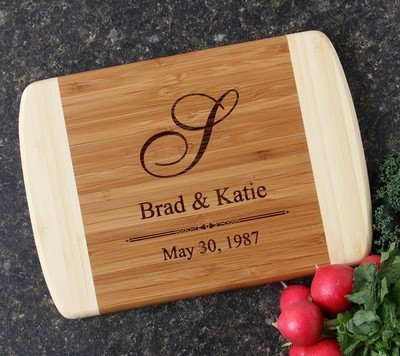 Personalized Cutting Board Custom Engraved 10 x 7 DESIGN 11