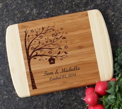 Personalized Cutting Board Custom Engraved 10 x 7 DESIGN 27