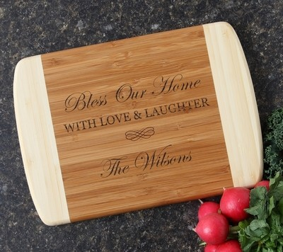 Personalized Cutting Board Custom Engraved 10 x 7 DESIGN 22