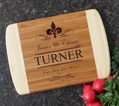 Personalized Cutting Board Custom Engraved 10 x 7 DESIGN 20