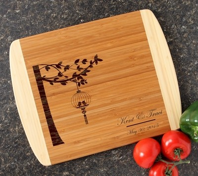 Personalized Cutting Board Custom Engraved 14x11 DESIGN 32