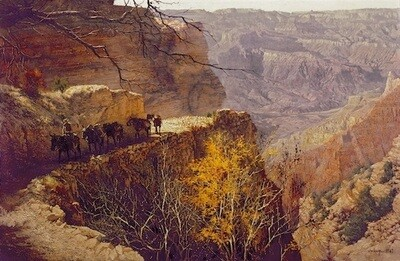 Kaibab Trail - Fall #1