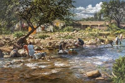 Wash Day - Cuernavaca