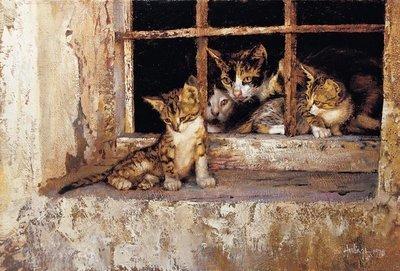 Family Portrait (Almería Cats)