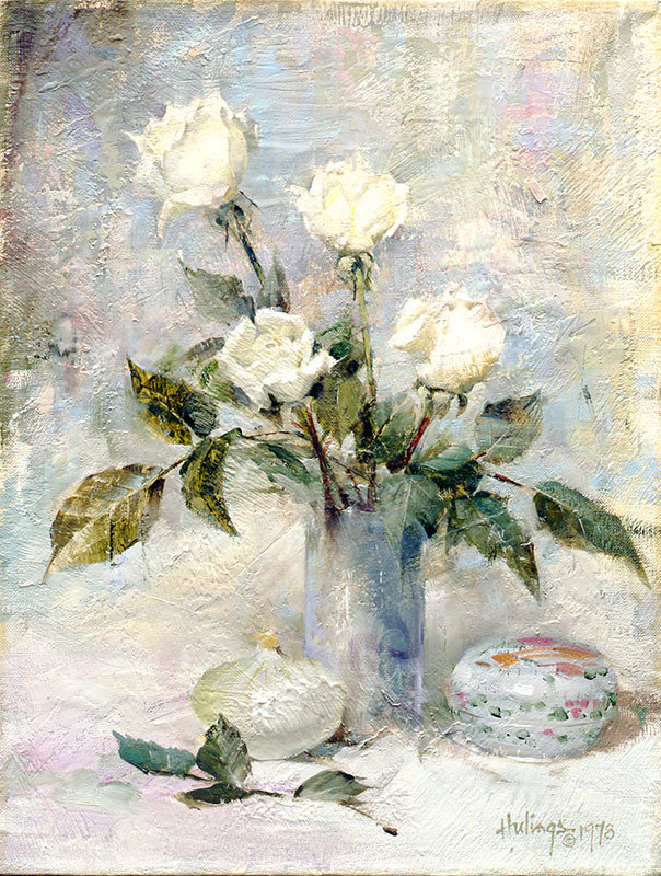 White Roses with Onion