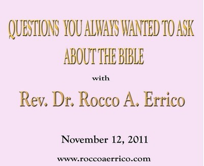Questions You Always Wanted to ask about The Bible