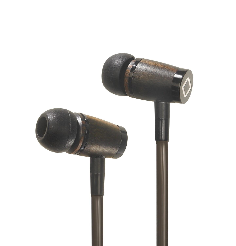 Aircom Audio A6 Airtube Headset - Wood