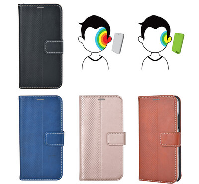 Galaxy A32 / A11 / A21 / A52 Wallet Case Universal Cover Flip Style TPU Anti Radiation