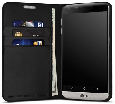 vest Anti-Radiation Wallet Case for LG G5