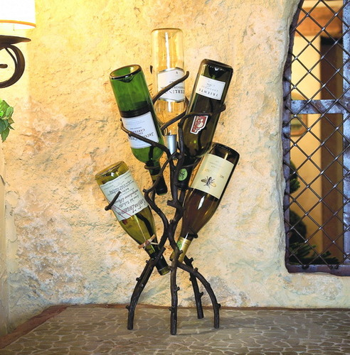 5 Bottle Wine Tree